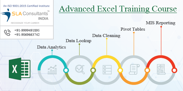 Best Advanced Excel Training Course Institute in Gurgaon - SLA Consultants Gurgaon