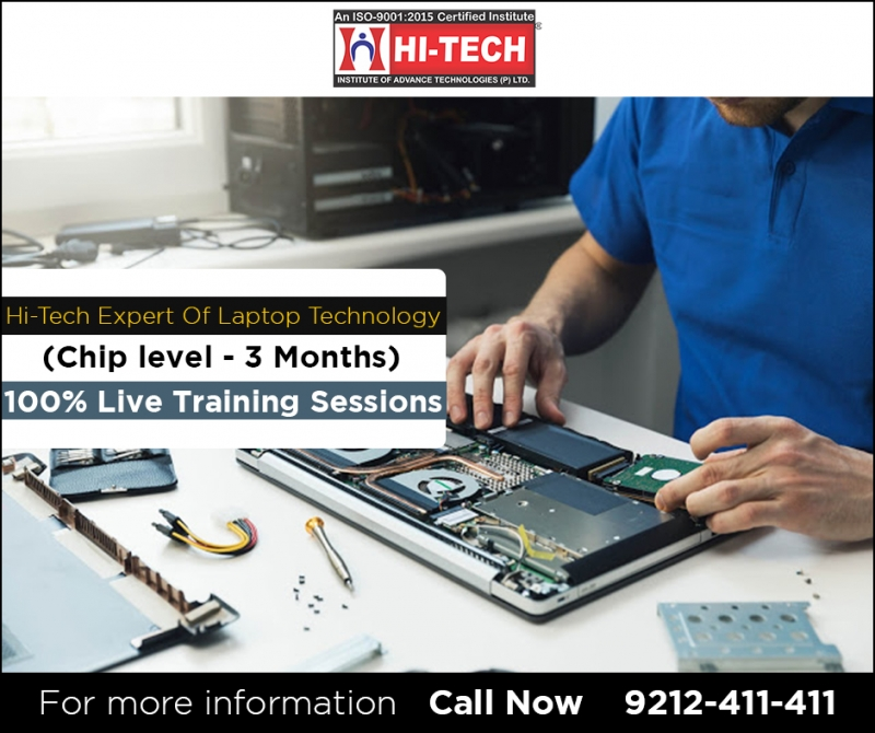 Chip level Laptop Course in Delhi