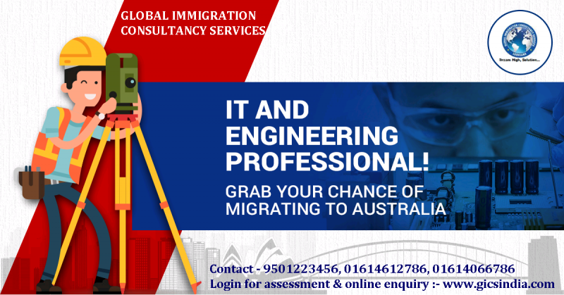 Grab your chance to migrating in Ausdtralia. IT professionals and Engineers can apply