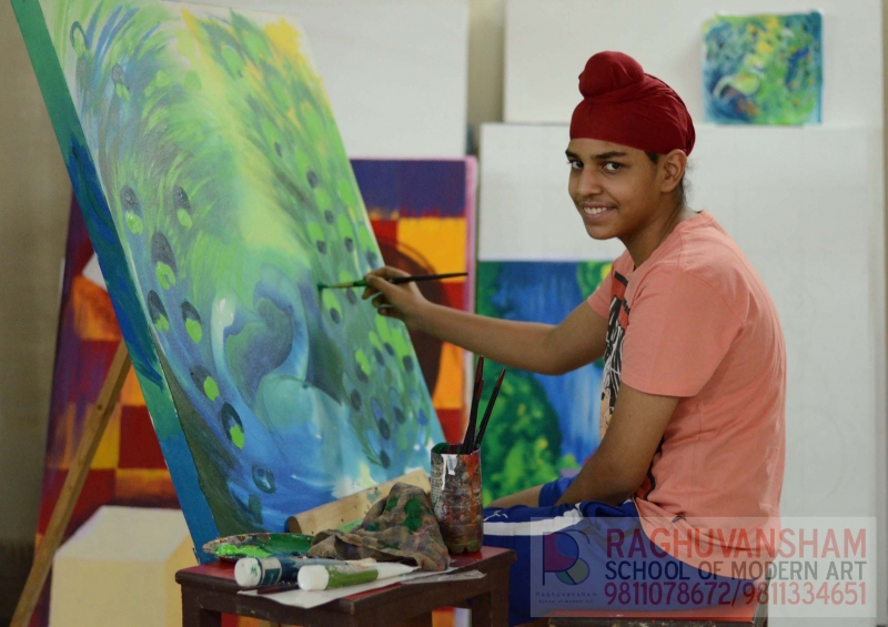 fine art certificate & diploma courses in delhi