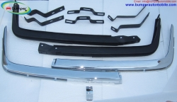 Mercedes W107 R107 bumper by stainless steel