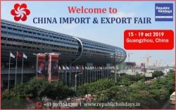 Canton Fair China, Canton Fair 2019 Tour Package From India - Republic Holidays Travel Services