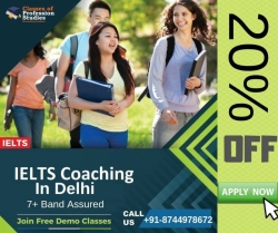 Write your IELTS and get 7+ Band Assured! - Best IELTS Coaching Institute In Delhi
