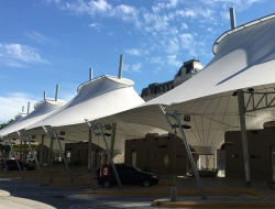 Tensile Structure, Tensile Car Parking, Tensile Fabric Structure Manufacturers in Delhi