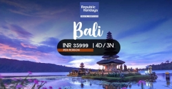 Bali Tour Package from Delhi, Book Bali Tour Package, Republic Holidays Travel Services