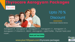 Book Thyrocare Packages in Hyderabad - Don't Miss Up To 75 % Discount On All Health Checkup Packages
