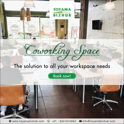 Coworking Space near Manyata Tech Park for Startups