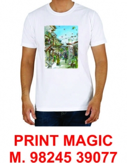 t-shirt, mouse pad, mugs, cap printing services in ahmedabad M. 9824539077