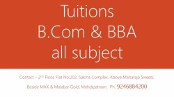 B.Com tuition's in Mehdipatnam