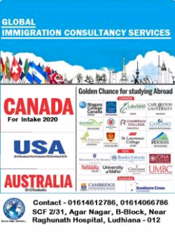 Golden chance for study in abroad. 2020 intakes applications open in countries like Canada, Australia, Newzealand.