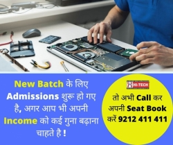 Hitech Laptop Repairing Training Institute Ghaziabad UP