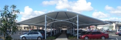 Tensile Structure, Tensile Fabric Structure, Car parking Tensile in Pune